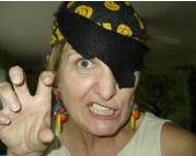 Betsy Jones - Pirate