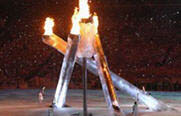Olympic torch - thumbnail