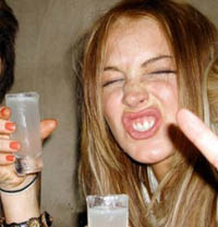 Lindsay Lohan drunk - thumbnail