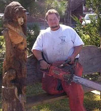 chain saw sculptor - thumbnail