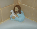 Jesus in the bathtub - thumbnail
