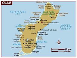 map of guam