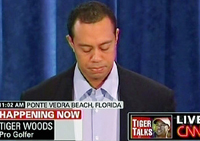 tiger woods apology press conference Tiger woods held a press conference this morning to address the scandal that erupted in the wake of his thanksgiving car crash he offered a straight-on, sober apology a look at other celebrity .