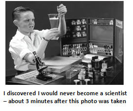 Kids, don't try this at home – My (Disastrous) 10th Grade Science Experiment