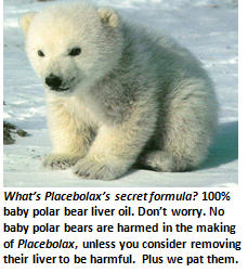 placebolax - polar bear