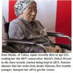 World's Oldest Person dies – AGAIN