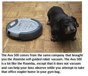 robot bosses - Roomba