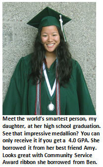 Worlds smartest person - high school graduate