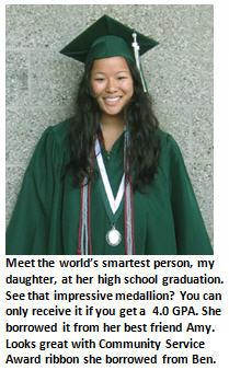 Worlds smartest person - high school graduate
