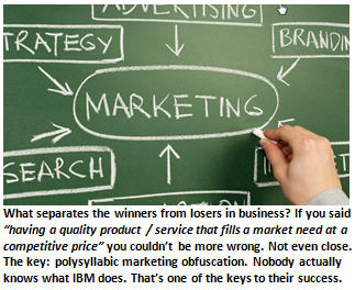 marketing - chalkboard