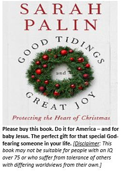 Sarah Palin Christmas book
