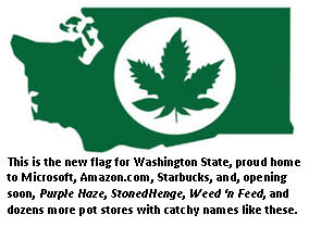 legalizing pot - WA state