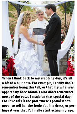 wedding vows - wedding day