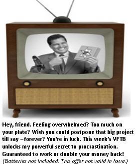 Procrastination - TV set