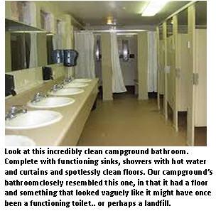 Camping - bathroom