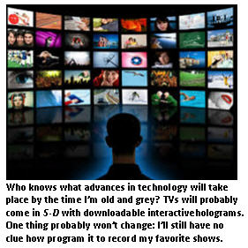Future tech - TV wall