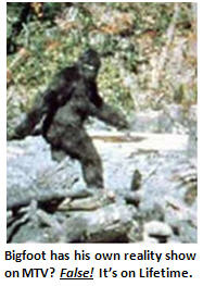 snopes - Big Foot