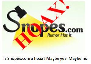 snopes - HOAX