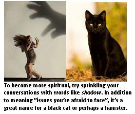 Competitive spirituality - Shadow