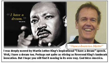 I have a dream too - King and Tim