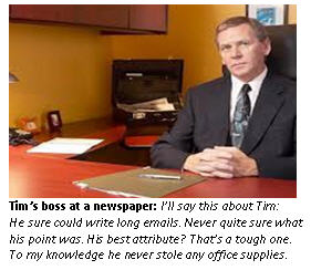 Tim funeral - boss