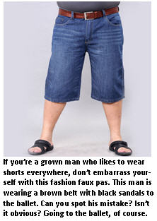 men in shorts - guy in shorts