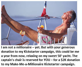 Kickstarter - man on boat