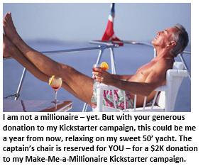 Kickstarter - man on boat