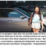 """Will you take $750 for that 2013 BMW?"" – Helping my teenager buy her first car"