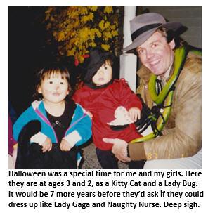 Halloween - me and my girls