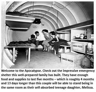 Armageddon - shelter