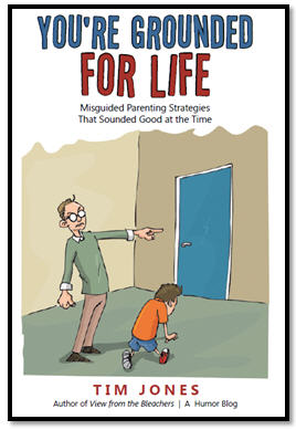 You're Grounded For Life - book cover for blog site