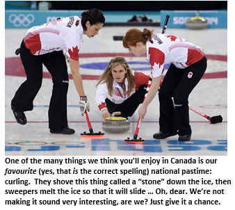 Welcome to Canada - Curling