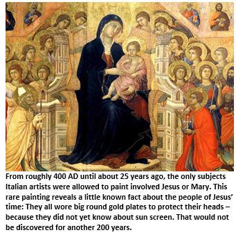 Italy - Mary and Jesus
