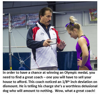 2028 Olympics - angry coach