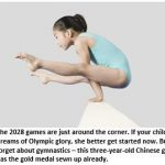 It's Not Too Late to Prepare Your Child for the 2028 Olympics