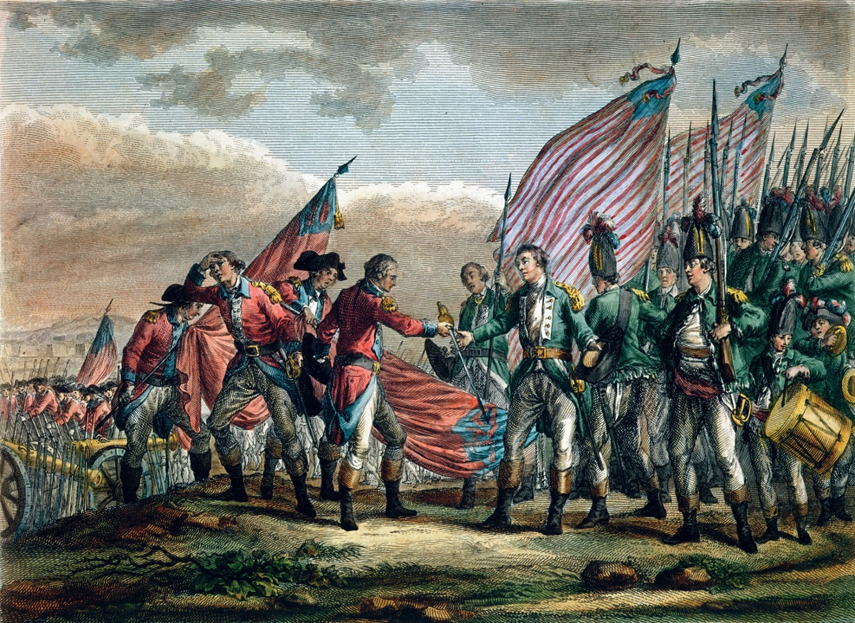 Two famous British Generals from the Revolutionary War were General John Burgoyne and General William Howe. They were going to join forces in the Battle of Saratoga to quash the rebels. Things did not quite work out as planned.